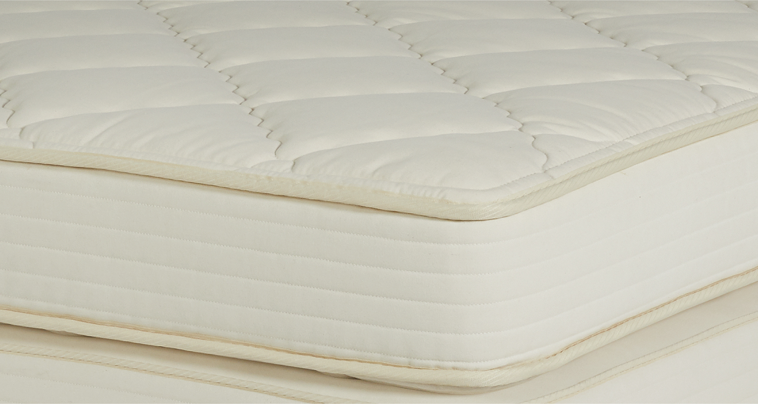 NATURAL LATEX QUILT-TOP MATTRESS